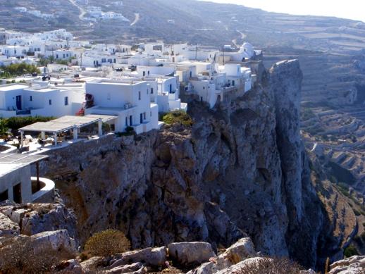 Chora village Folegandros