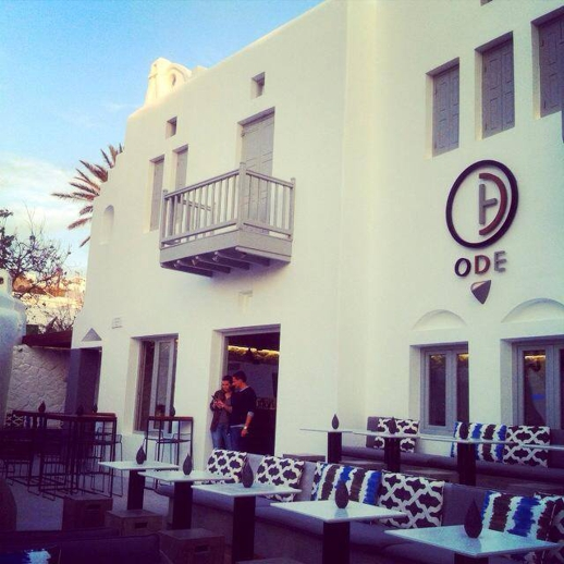 ODE Nightclub Mykonos