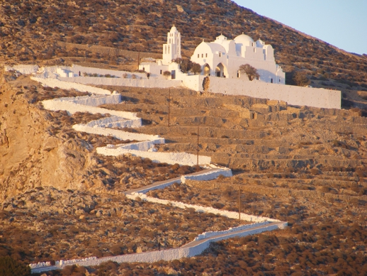 Panaghia on Folegandros
