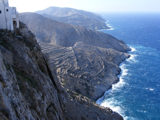 north coast of Folegandros