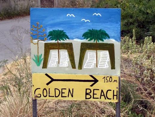 Golden Beach on Kos