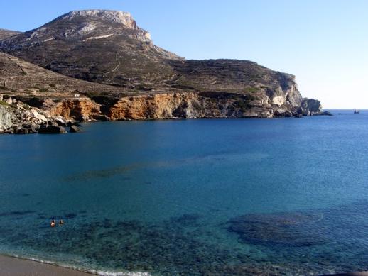 Angali beach Folegandros