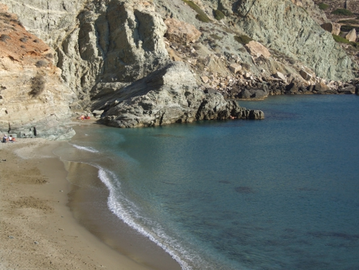 Angali beach on Folegandros