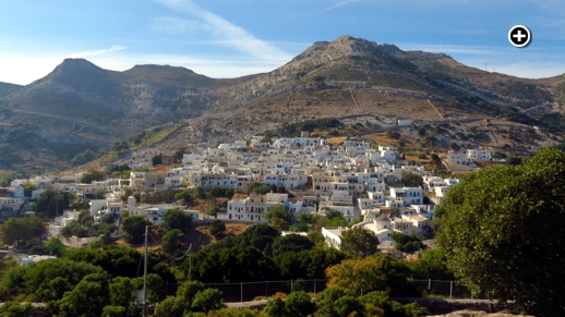 Apeiranthos is one of the mountain villages most visited by tourists to Naxos island
