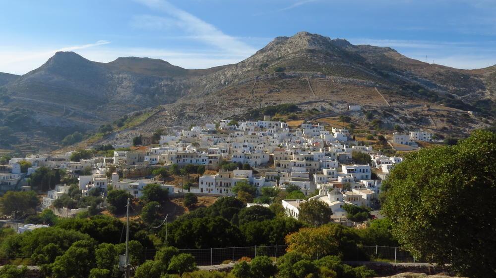 Apeiranthos village on Naxos