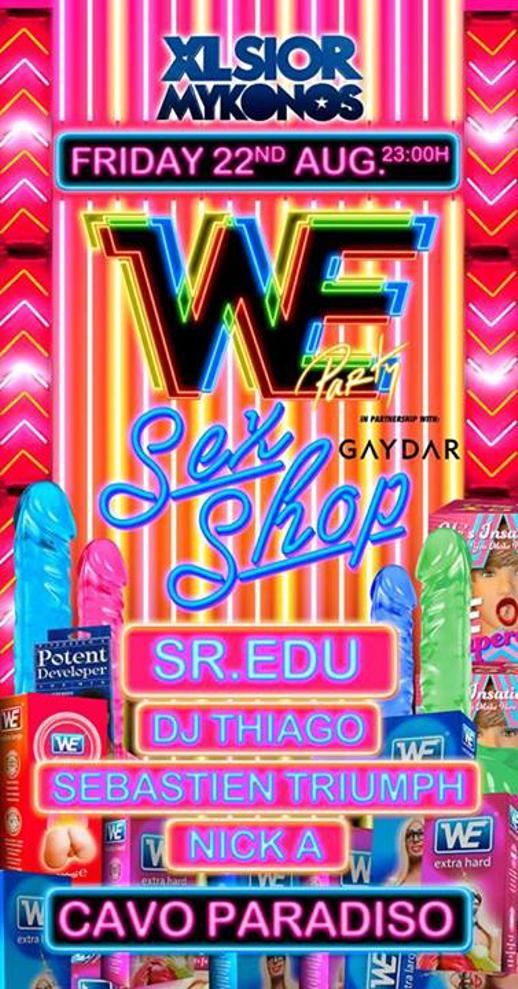 XLSIOR Mykonos 2014 WE Party