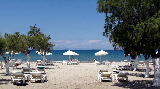 a beach on Kos
