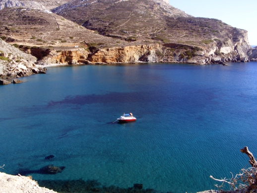 Angali bay on Folegandros