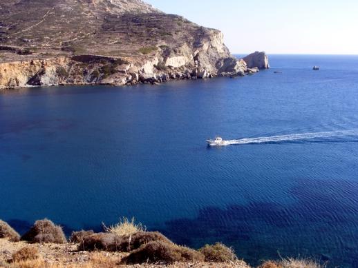 Angali bay Folegandros