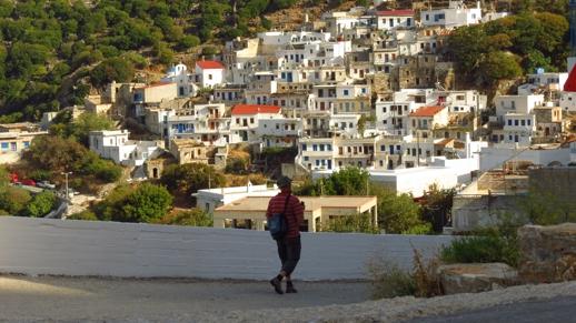 Koronos village on Naxo