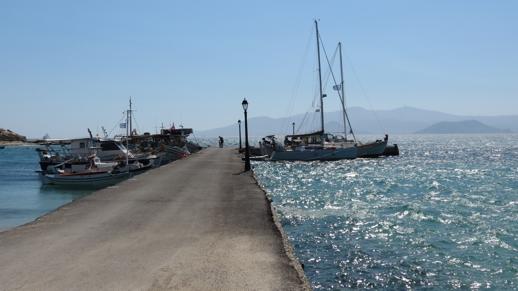 Agia Anna harbour
