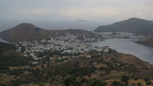 Skala village on Patmos