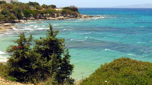 Orkos Bay on Naxos