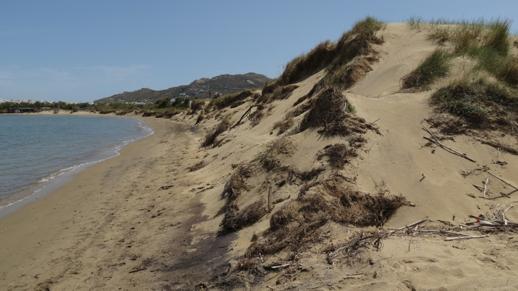 dunes on Naxos