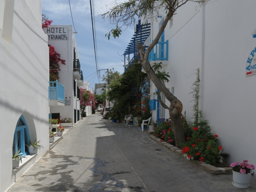 Hotel Syrianos in Naxos Town