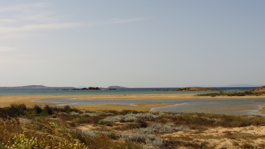 Lagoons in St George's Bay