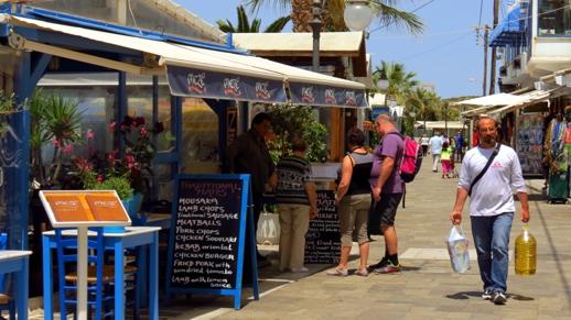 Meze2 taverna Naxos