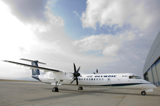 Olympic Air De Havilland DHC-8-402Q aircraft