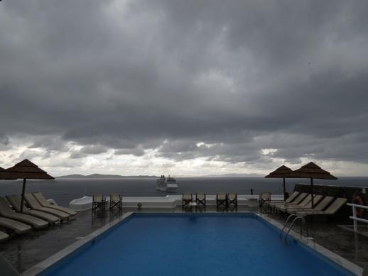 Stormclouds at Mykonos