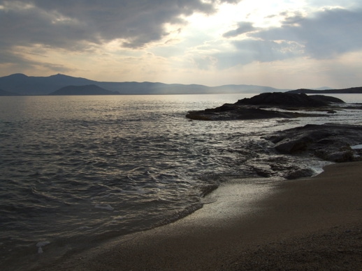 Stormclouds over Naxos