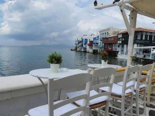 Little Venice area of Mykonos