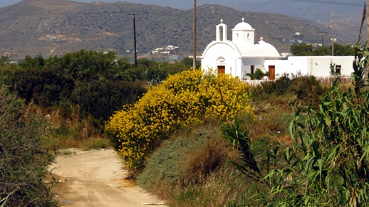 a church on Naxos