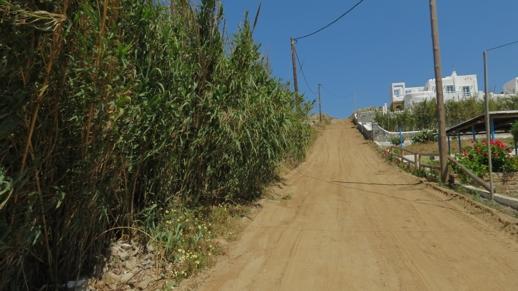 a road in Stelida