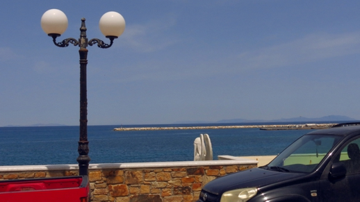 view from naxos Town Hall