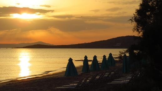 Agia Anna beach on Naxos