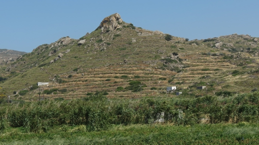 a hill on Naxos