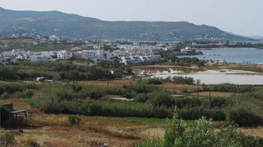 Lianos Village Hotel view