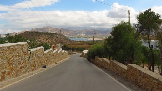 view from Mediterranean Hotel Naxos