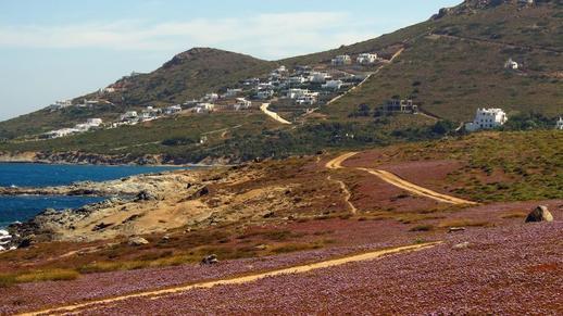 Naxos west coast