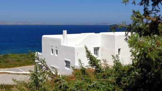 a villa on Naxos