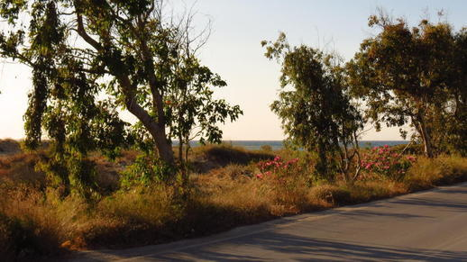 highway on Naxos