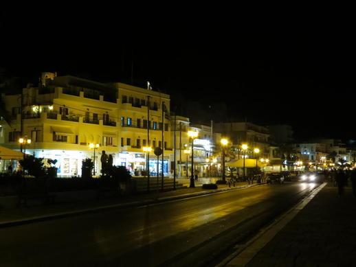 Naxos Town paralia