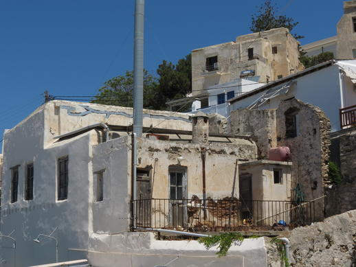 a building in Naxos Town