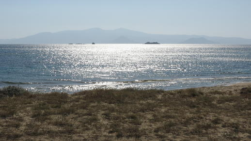 the channel between Naxos and Paros