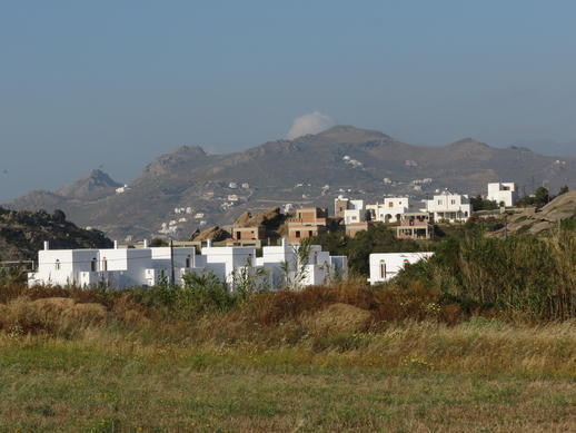 mountains on Naxos