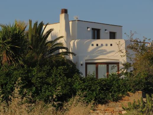 a villa in Stelida