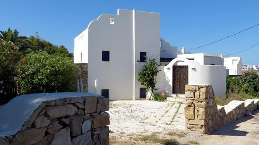 a villa on Naxos