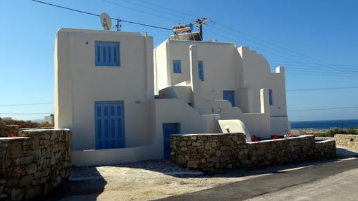 apartment building on Naxos