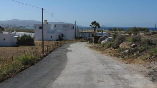 road to Agios Prokopios beach