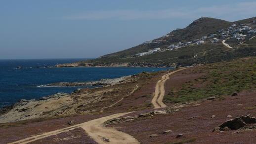 western coast of Naxos