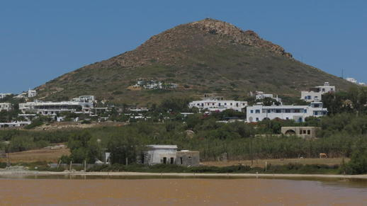 Stelida mountain on Naxos