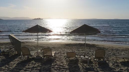 St George's beach Naxos
