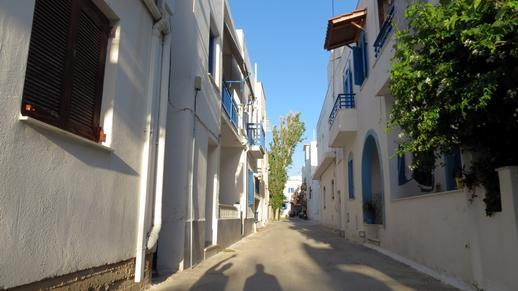 a street in Naxos Town