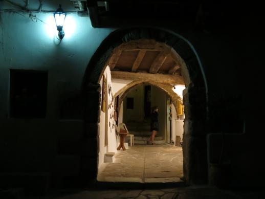 Naxos Castle entrance