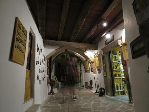 art shop in the Naxos Castle