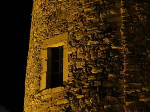 Naxos Castle wall